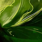Self-reflecting leaf by Charlize Cape