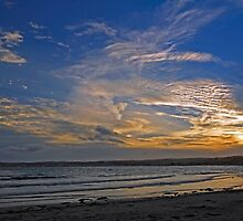 Sunset Over Penzance, Cornwall by Rod Johnson