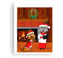 Have A Holly Molly Christmas Canvas Print