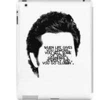 When life gives you lemons. iPad Case/Skin