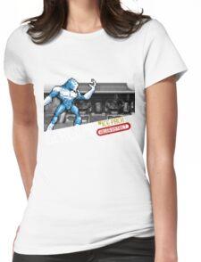 Glacius 8-bit Shirt Womens Fitted T-Shirt