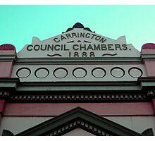 The Carrington Town Hall Newcastle 2008 Photographic Print