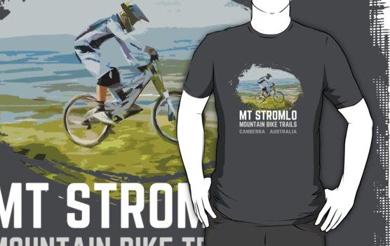 Mt Stromlo Downhill MTB by Nick  Taylor