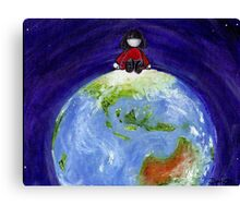 Clara Takes on the World Canvas Print