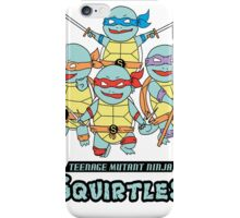 Teenage Mutant Ninja Squirtles iPhone Case/Skin