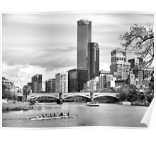 A day on the Yarra Poster