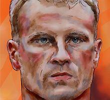 Dennis Bergkamp by ArsenalArtz