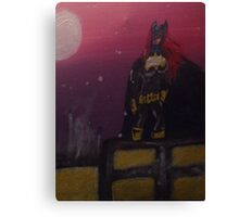Batgirl Rising Canvas Print