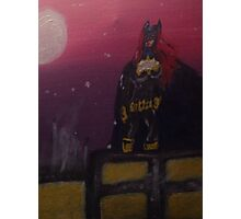 Batgirl Rising Photographic Print