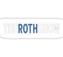 The Roth Show Sticker