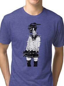 glitch girl Tri-blend T-Shirt