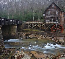 Glade Creek Grist Mill by ThomasRBiggs