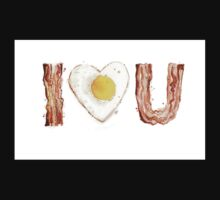 Bacon and Egg LOVE Kids Clothes