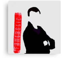 The 'Fantastic' Ninth Doctor Canvas Print