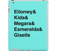 Second Tier Princesses iPad Case/Skin