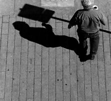 Does it hurt if your shadow bumps into something? by Jen Cannella