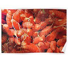 Carrot Art Poster