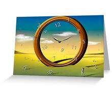 Tempo  ao Tempo. Greeting Card