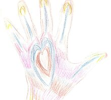 Heart Hand by KazM