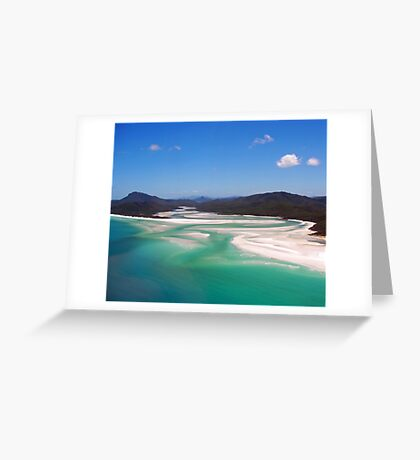 Where Sea and Sand meets Greeting Card