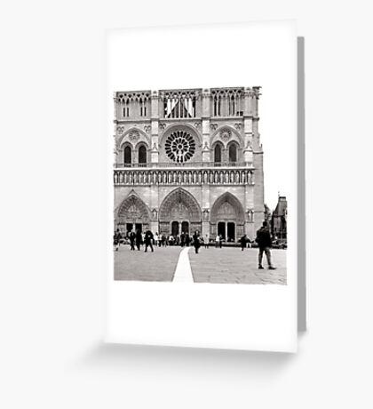 paris in the spring Greeting Card