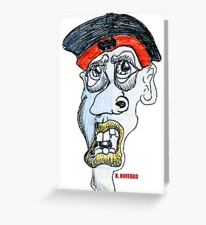 The Guru Greeting Card