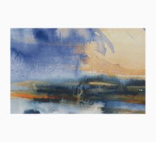 Abstract watercolor painting One Piece - Long Sleeve
