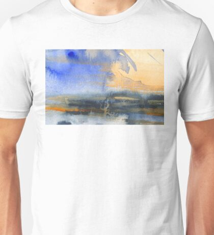 Abstract watercolor painting Unisex T-Shirt