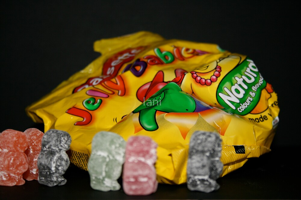 The Great Jelly baby escape by Iani