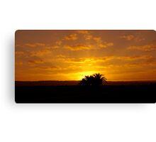 Sunrise over Suburbia. Canvas Print