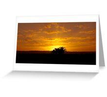 Sunrise over Suburbia. Greeting Card