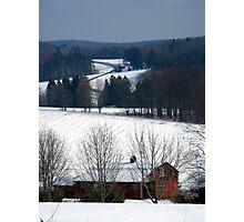 Winter Landscape #6 Photographic Print