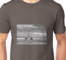 Black and White irrigator. Unisex T-Shirt