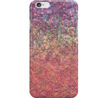 Sparkley Grunge Relief Background iPhone Case/Skin