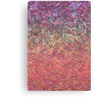 Sparkley Grunge Relief Background Canvas Print