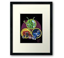 Weather Trio Framed Print