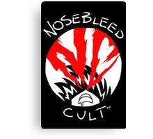 NoseBleed Cult™ Logo2 Canvas Print
