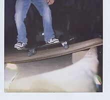 Skateboarder Polaroid by kaylarenee