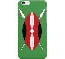Kenyan Shield iPhone Case/Skin