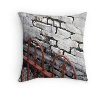 Rotter Bottom Cemetery #5 Throw Pillow