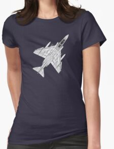 F4 Phantom Fighter Aircraft Womens Fitted T-Shirt