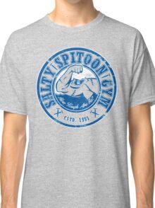 Salty Spitoon Gym- Blue Classic T-Shirt