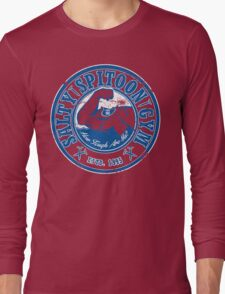 Salty Spitoon Gym- Blue Long Sleeve T-Shirt