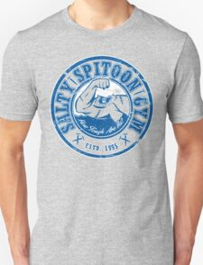 Salty Spitoon Gym- Blue Unisex T-Shirt