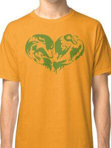 I Heart Dragons Classic T-Shirt