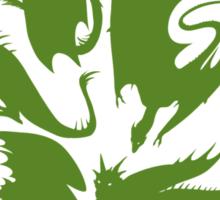 I Heart Dragons Sticker