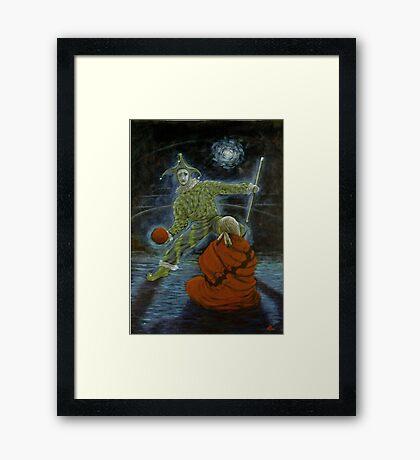 The Trickster Framed Print