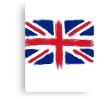 Abstract Union Jack Canvas Print
