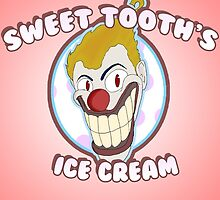 Sweet Tooth's Ice Cream Poster by SERG-E-O