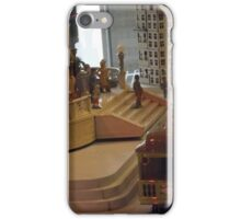 Model Lionel Trains, Model Lionel Buildings, New York Historical Society, New York City iPhone Case/Skin